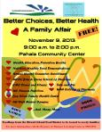 Better Choices Better Health A Family Affair Flier.2