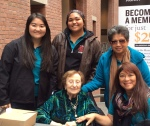 Interns with JM and DK at Holocaust Museum