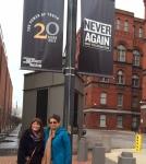 JM and DK.Holocaust Museum