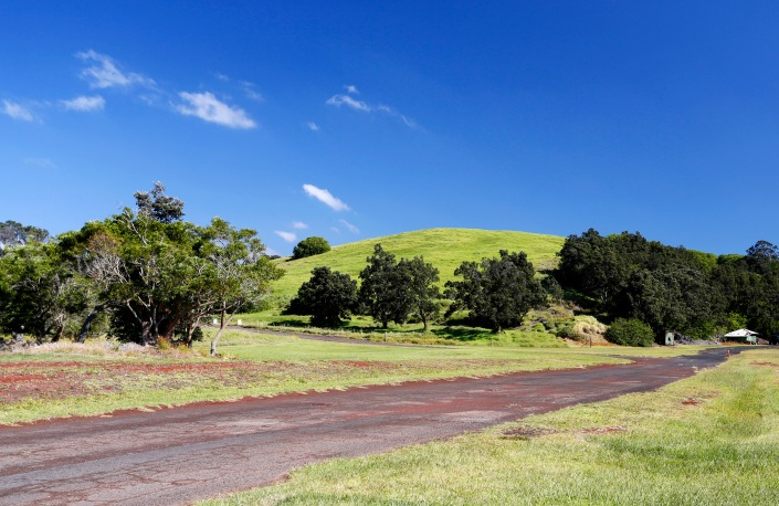 Pu'u o Lokuana Krater, Kahuku Unit, Hawaii