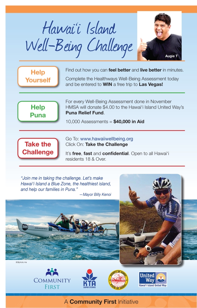 Hawaii Island Well Being Challenge