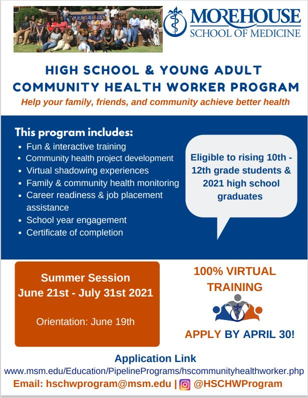 HighSchoolCHW Program