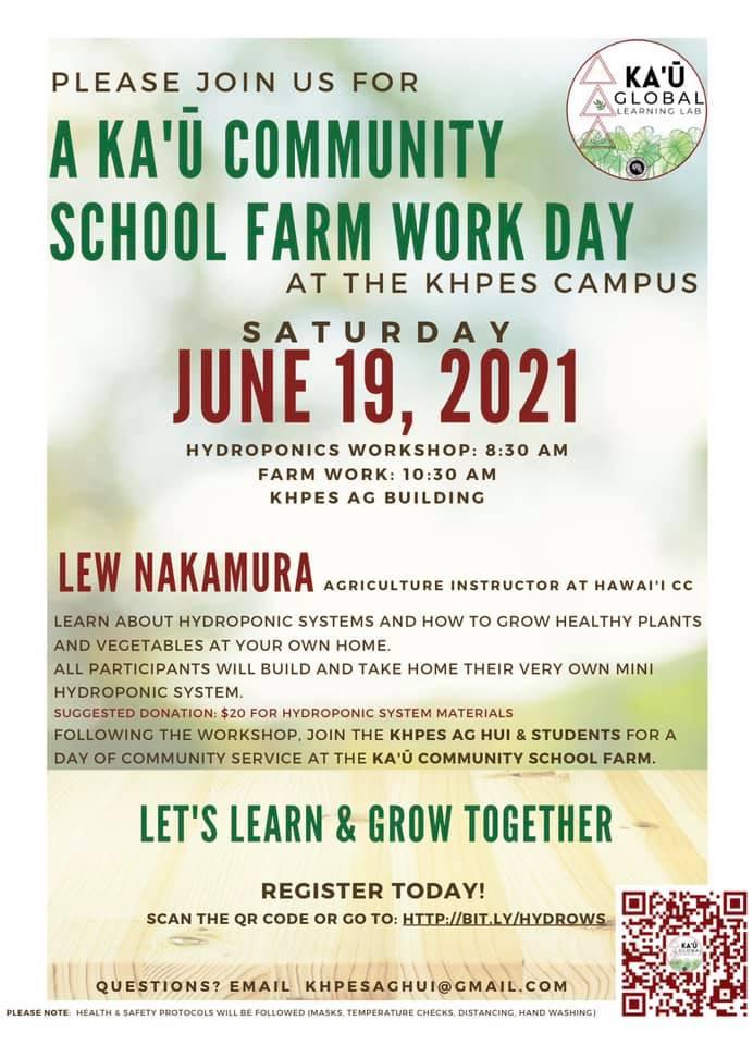 Kau Farm Work Day